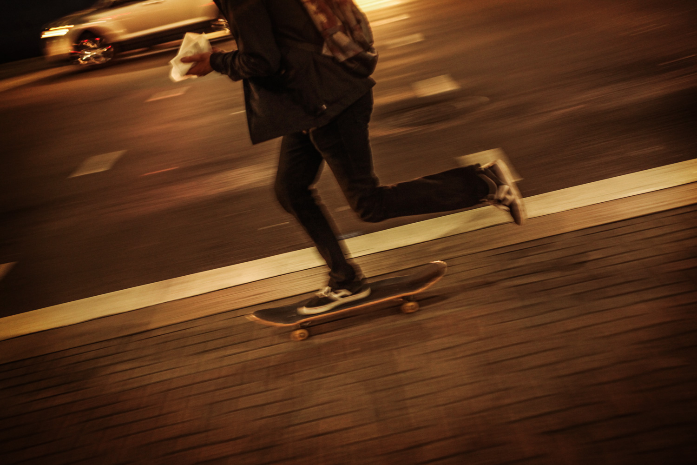 Skateboarding in Kalifornien