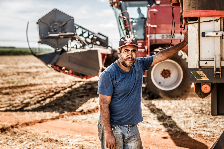 Bauarbeiten in Brasilien.