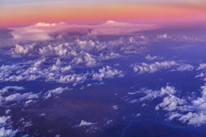 Himmel über Brasilien.