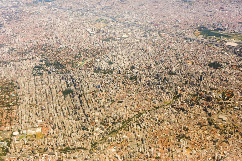 """Ein Foto von der Hauptstadt """"Brasília""""."""